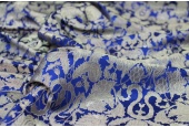 Heavy Banaras Brocade - Electric Blue