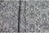 Classic Brocade - Two Shades of Grey