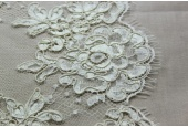 Corded Lace Trim - Ivory