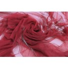 Soft Nylon Tulle - Burgundy