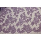 Lilac Corded Lace
