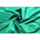 Silk Dupion - Emerald Green Shot Blue - B66