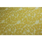 Leaf Pattern Lace - Yellow