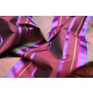 Satin Stripe Taffeta - Rust Burgundy Blue pink