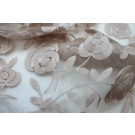 Floral embroidered Tulle - Blush