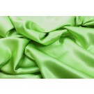 Lime Silk Satin - 140cm wide
