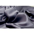 Silk Satin Backed Crepe - Anthracite