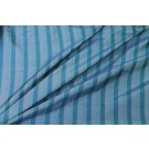 Striped Silk Dupion - Blue