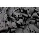 "Fabric ""Leaf"" Applique - Black"