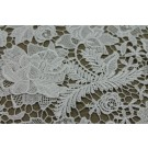 Guipure Lace - Ivory 3D Flowers