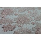 Guipure Lace - Delicate Pale Pink Floral