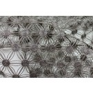 Metallic String Weave - Grey