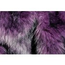 Faux Fur - Black Tipped Purple
