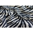 Pony Skin - Beige and Black Zebra Stripe