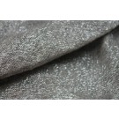 Linen with Lurex - Natural, black and Silver