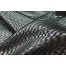 Metallic Texture Brocade - Black Silver