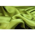Chartreuse Silk Satin - 140cm wide