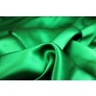 Emerald Green Silk Satin - 140cm wide