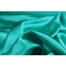Turquoise Silk Satin - 140cm wide