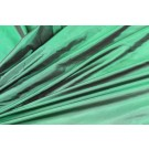 Lightweight Silk Taffeta - Green shot Black