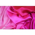 Ombre Silk Satin - Pinks - 140cm wide