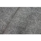 Grey and Black Wool with Silver Lurex