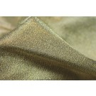 Crisp Metallic Texture Silk - Dark Gold
