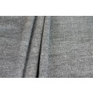 Wool Coating - Grey Black Herringbone