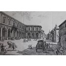 Art Print on Cotton Drill - Hospital of Santa Maria Nuova