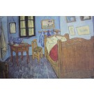 "Art Print on Cotton Drill - Van Gogh ""Bedroom In Arles"""