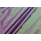 Lightweight Silk Taffeta - Purple shot Green