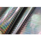 Holographic Metallic Leatherette - Silver