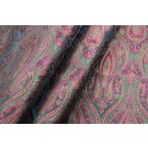 Banaras Brocade - Red and Olive