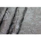 Jacquard Style Embroidery - Silver