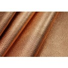 Textured Thick Metallic Leatherette - Rose Gold