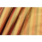 Striped Silk Dupion - Orange