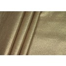 Gold Glitter Coated Poplin