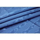 Cotton Viscose Grosgrain - Royal Blue Moire