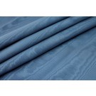 Cotton Viscose Grosgrain - Air Force Blue Moire