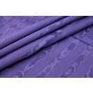 Cotton Viscose Grosgrain - Purple Moire