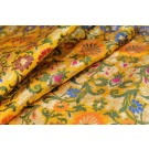 Heavy Banaras Brocade - Yellow / Multi