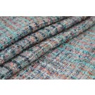 Chunky Multi Colour Silk Chenille - Grey/Pink