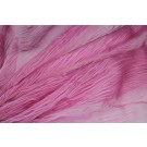 Distressed Silk Cotton - Bubblegum Pink