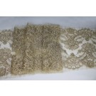 Corded Lace Trim - Gold