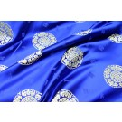Chinese Brocade - Blue With Gold Orb