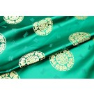 Chinese Brocade - Green With Gold Orb
