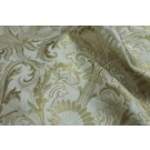 Heavy Banaras Brocade - Ivory / Gold
