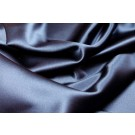 Silk Satin Backed Crepe - Navy