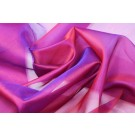 Silk Organza - Red Shot Purple