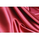 Silk Satin Backed Crepe - Red